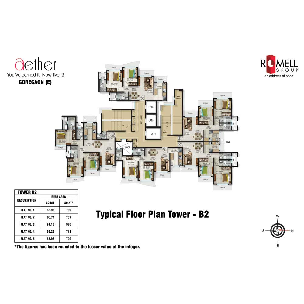 Romell Aether FloorPlan Typical