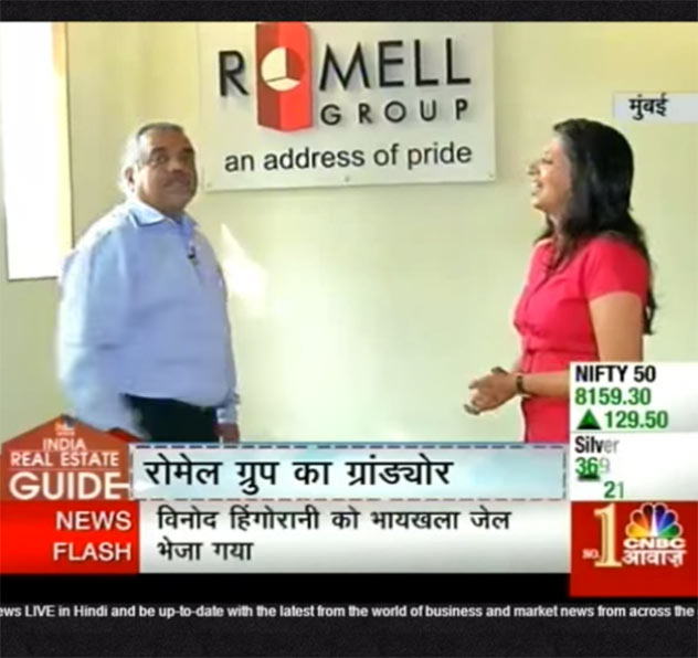 Romell Grandeur featured as top property on CNBC Awaaz Real Estate Guide