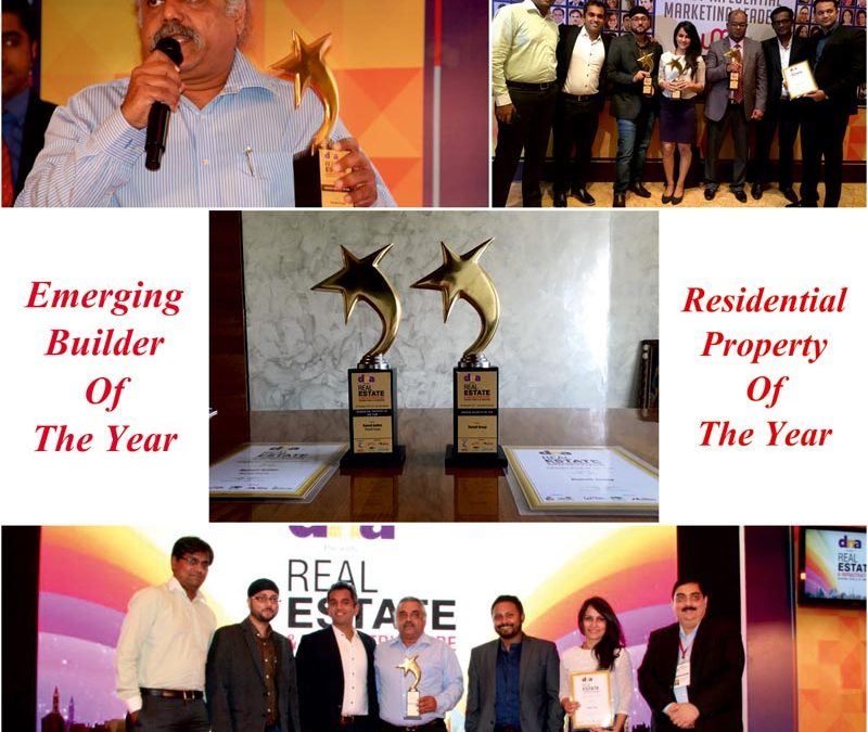 Romell Group awarded 'The Emerging Builder' and 'Best Residential Property' of the year by DNA – 2015